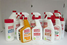 8in1 Natures Miracle Stain & Odour Remover - Bottle or Spray - Dog, Cat, Ferrets