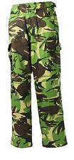 NEW MIL-COM ARMY STYLE KIDS WOODLAND DPM COMBAT TROUSERS, NOT MTP OR MULTICAM