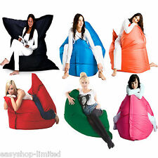 Giant XXL Bean Bags Large Floor Cushion Lounger Indoor/Outdoor Garden COVER ONLY