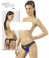 Sexy Open Crotch & Back Crotchless Pants Briefs Knickers Lingerie Underwear