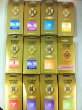 Gonesh Incense Cone Pack of 25 Cones - U Choose Scent and Amount - Huge Variety