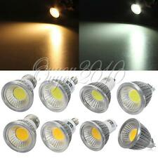 E14 E27 GU10 MR16 3W 5W 7W Dimmable LED CREE COB Spot down light lamp bulb