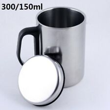 Stainless Steel Double-deck Coffee Mug Tea Cup Tumbler Camping Cup 300ml/450ml
