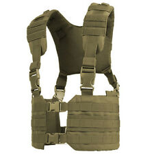 CONDOR MCR7 - Ronin Chest Rig - OD BLACK TAN MULTICAM