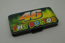 IPHONE 4/4S 5/5S & 5C VALENTINO ROSSI 46 THE DOCTOR - PU LEATHER FLIP CASE