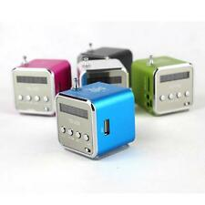 Portable Mini Speaker MP3/4 Music Player Amplifier Micro SD TF USB Disk FM Radio