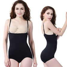 Seamless Full Bodysuit Shaper Ladies Stretch Leotard Slimming Shapewear SZ-S-XXL