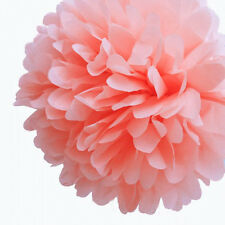 "3pc/lot 4"" 6"" 8"" 10"" Tissue Paper Pom Poms Flower Ball Wedding Party Decoration"
