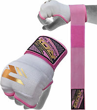 RDX Ladies Gel Inner Hand Wraps Gloves Boxing Fist Pink Bandages MMA Women Gym C