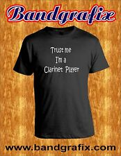 Trust Me I'm a Clarinet Player - For Musicians, Funny T-Shirt- Black