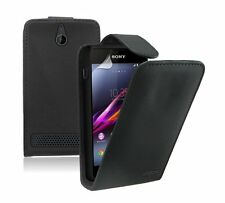 Leather Flip Case Cover Pouch for Sony Xperia E1 / D2004 / D2005 experia
