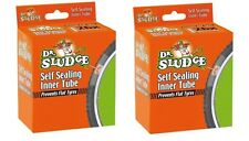 "2 x Dr SLUDGE SELF SEAL SEALING INNER TUBE TUBES 700 24"" 26""  Presta / Schrader"