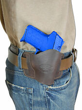 New Barsony Brown Leather Slide Holster Kel-Tec Taurus Sccy 380 Ultra Comp 9mm