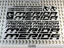 "20 Set MERIDA Bicycles Bikes Decals Stickers Frames 11"" COLORS Available A59J"
