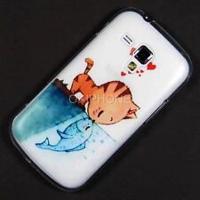 New Cat Case Back Cover For Samsung Galaxy Trend Plus S7580 S7560 S Duos 2 S7582