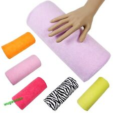 Half Hand Cushion Rest Pillow Nail Art Design Manicure Care Salon Soft Column