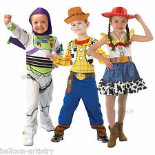 Childrens Official Disney Toy Story Buzz Woody Jessie Fancy Dress Costume