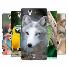 HEAD CASE DESIGNS FAMOUS ANIMALS HARD BACK CASE COVER FOR SONY XPERIA Z C6603