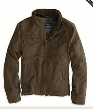 NEW American Eagle Outfitters Mens UTILITY JACKET Jacket -M, L, XL - Olive