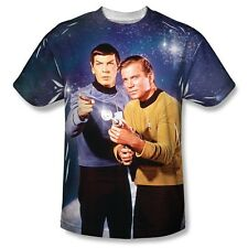 Star Trek Protectors Laser Pointer 2-Sided Sublimation Print Poly Shirt S-3XL