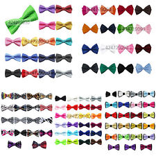 Children Kids Boys Tuxedo Solid Color Two-tier Polka Dot Bowtie Wedding Bow Tie