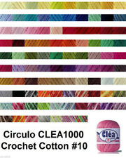 VARIEGATED COLOURS Circulo CLEA1000 155g 1000m Crochet Cotton Knitting Thread#10