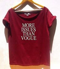 More issues than vogue Off The Shoulder T shirt women tumblr tumblr tshirt Vouge