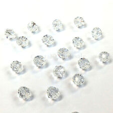 Crystal (001) clear Swarovski Elements 5000 Crystal Round Beads 4mm 6mm 8mm