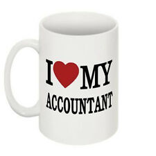 I Love My Accountant Mug Cup Gift Retro