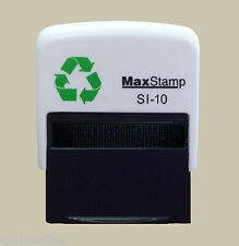 Custom Rubber Stamp Self Inking - 36x13mm - Personalised with your Logo & Text