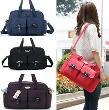 New Baby Diaper Nappy Changing Bag Mommy Messenger Bag  Tote with Mat