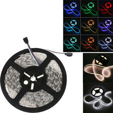 5M RGB 5050/3528 SMD LED Strip Light 300 LED IP65 & IR Controller & Power Supply