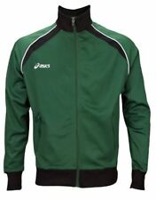 ASICS Men's Approach Warm-Up Jacket, Forest / Black