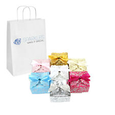 50 Medium Ribbon Wedding Favor Gift Boxes - Baby Shower Candy