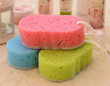 New Bath Sponge Massage Multi Shower Exfoliating Body Cleaning Scrubber 3 Color