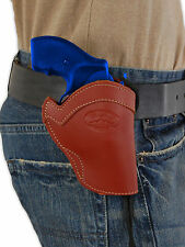 """NEW Barsony Burgundy Leather Western Style Holster S&W 22 38 357 Snub Nose 2"""""""