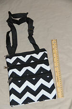Crossbody bag Body Bag purse tote shoulder bag Chevron Print travel purse tote
