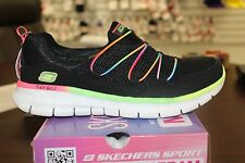 Skechers Sport Synergy Loving Life 11793 Black Multicolor Memory Foam