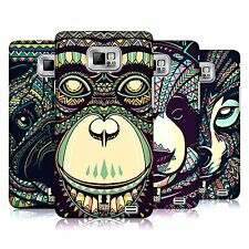 HEAD CASE DESIGNS AZTEC ANIMAL FACES 3 CASE COVER FOR SAMSUNG GALAXY S2 II I9100