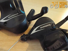 3x8 SPEED SHIMANO ACERA SL-M360 DUAL LEVER SHIFTERS  BLACK