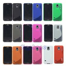 S Line TPU Silicone Gel Case Cover For Samsung Galaxy S5 SM-G900