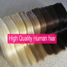 "15""18""20""22""24""26""28"" 7PCS Clip In Remy Human Hair Extensions 70g 80g 100g 120g"