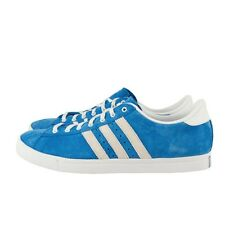 MENS ADIDAS GREENSTAR 663830 BLUE WHITE SUEDE RUNNING SNEAKER