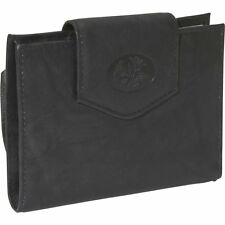 Buxton Women's Small Leather Heiress Single Cardex Card Wallet