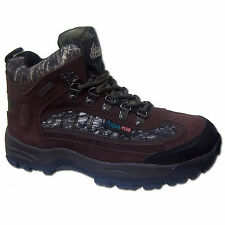 Itasca Mens Heritage Waterproof Hiking Hunting Trail Boots [ Brown Camo ]