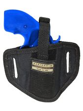 "New Barsony 6 Position Ambi Pancake Holster for Charter Arms 2"" Snub Nose Rev"