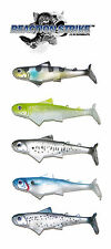 "REACTION STRIKE KILLER B SWIMBAIT  5"" (2 PACK)  select colors"