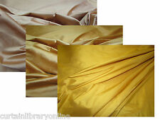 *Vintage James Hare Gold Designer Silk Curtain Soft Upholstery Fabric £9.99 m *