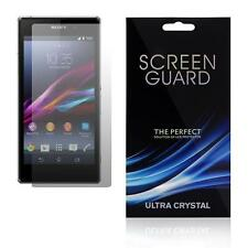 ULTRA THIN LCD CLEAR SCREEN GUARD PROTECTOR FOR SONY ERICSSON XPERIA Z Z1 J T M