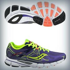 Womens Saucony Mirage 4 Running sneakers Purple / Citron / ViZiCORA 10221-1